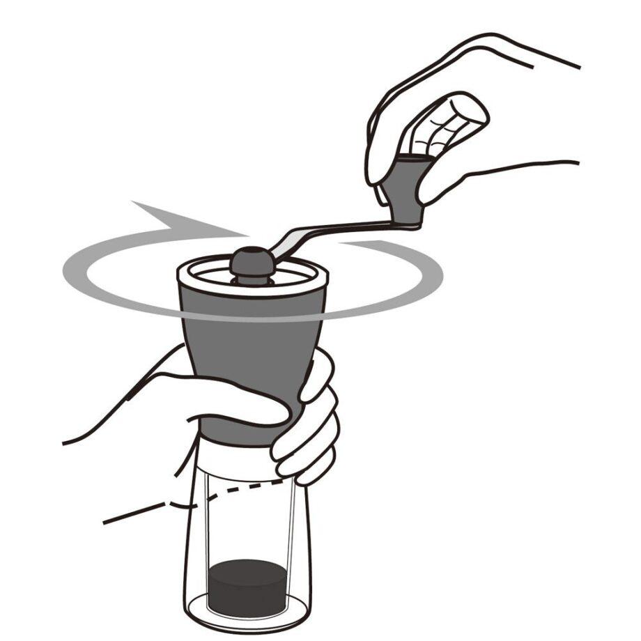 """Moedor Hario """"Coffee Mill Ceramic Slim"""""""